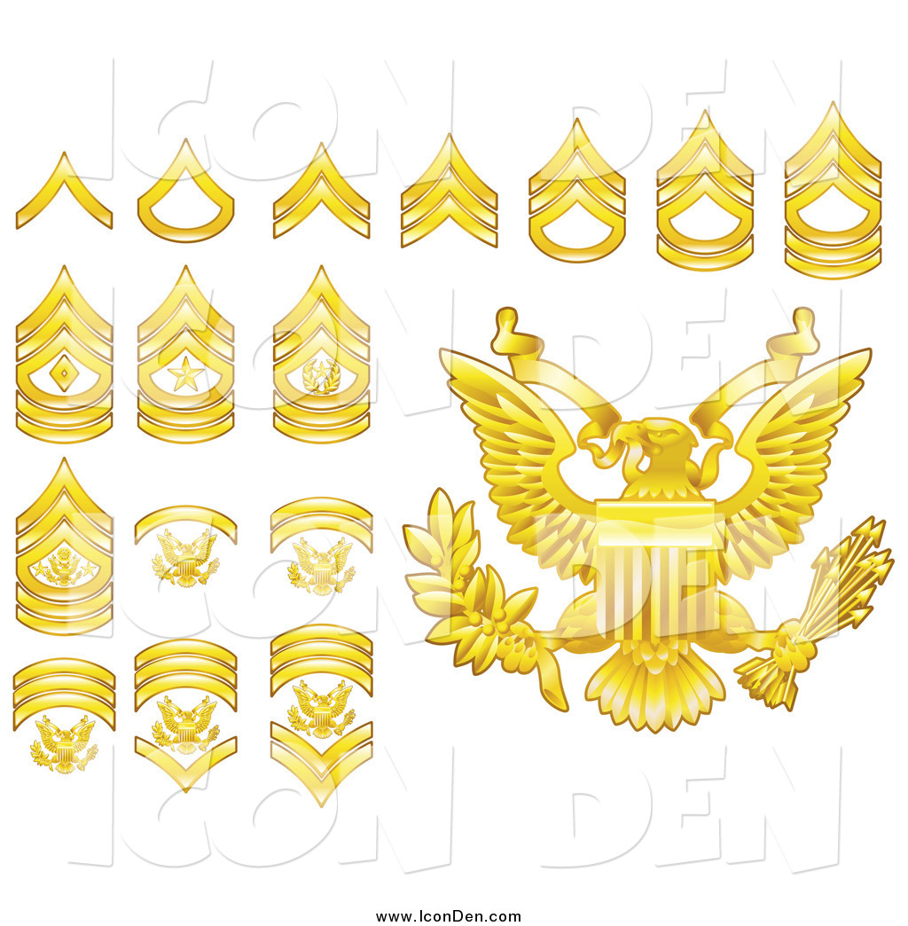 free military rank clip art - photo #13