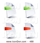 Royalty Free Stock Icon Designs of Documents