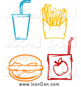 October 15th, 2014: Clip Art of Food Icons by Vector Tradition SM